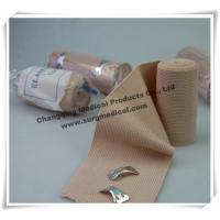 Wholesale High Elasticity Spandex Elastic Cotton Wrap Bandage Flesh Color Medical from china suppliers