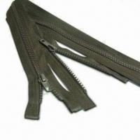 Wholesale No.5 Plastic Zipper A/L O/E, Customized Specifications are Welcome, with Raw Material from Taiwan from china suppliers