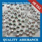 Wholesale hot fix aluminium octagon aluminium octagon hotfix YX1121-silver color from china suppliers