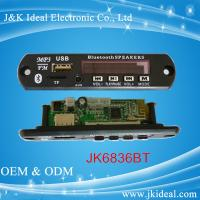 Quality JK6890BT   SD card usb aux fm bluetooth mp3 player module for amplifier for sale