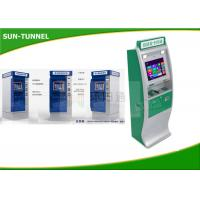 Wholesale Hotel / Government Card Dispenser Kiosk Cash Payment Machine 1280 X 1024 Resolution from china suppliers