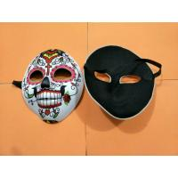 Wholesale Halloween Venetian Masquerade Carnival Full Face Skull Skeleton Horror Carnival Party from china suppliers