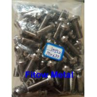 Quality Blue Anodized Titanium Bolts Vietnam Motorcycle Titanium Bolt M10*30mm for sale