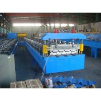 Wholesale Durable Roof Panel Roll Forming Machine With Mitsubishi / Siemens Control System from china suppliers
