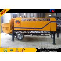 Wholesale Stationary Electric Concrete Pump 1840mm Wheel Span Anti - wearing Hydraulic Liquid from china suppliers