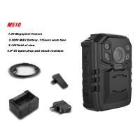 Wholesale Law Enforcement Body Worn Video Camera IP65 , One Touch Recording 4G WIFI GPS Optional from china suppliers