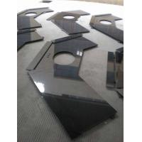 Wholesale Polished G684 Black Granite Vanity Tops for bathrooms , toilet , washroom from china suppliers