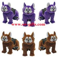 Wholesale Walking animal rides/animal ride for mall/Amusement Park Ride Musical Animated Plush Toy from china suppliers