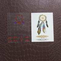 Wholesale Flash Bling Temporary Rhinestone Tattoo Stickers For Face / Hand / Eyeshadow from china suppliers