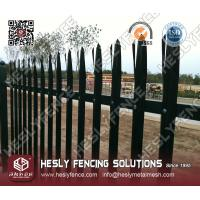 "Wholesale ""D"" profile pale Steel Palisade Fencing from china suppliers"