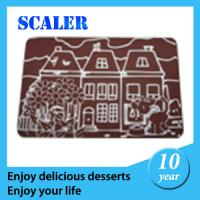 Wholesale Kitchen Silicone Macarons Mat / Silicone Chocolate Mold Heat Promotional Potholder from china suppliers