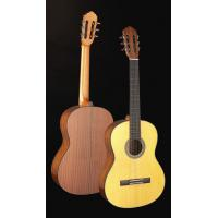 Wholesale Handcrafted Matt Solidwood Spruce Wood Classical Guitar cupronickel frets TP-CG15 from china suppliers