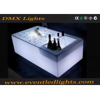 Wholesale Modern color changing rechargeable bright led bar table , led glow furniture from china suppliers