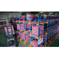 Wholesale FIFO / FILO Basis System Industrial Pallet Racks , Heavy Duty Pallet / Radio Shuttle Racking from china suppliers