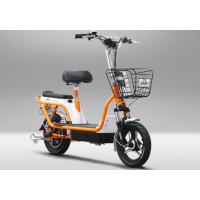 Wholesale Two Wheel Electric Bike Pedal Assist Electric Bicycle , 48V 12Ah Lead Acid Battery from china suppliers