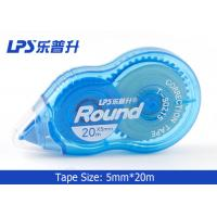 Wholesale Non Toxic 20M Blue Colored Correction Tape Korean Stationery Student T-90215 from china suppliers