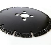Wholesale OEM / ODM Vacuum Brazed Diamond Blades , Diamond Saw Blades For Concrete from china suppliers