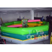 Wholesale Single Stick Inflatable Interactive Games Inflatable Wipeout Sport Game Meltdown Ride from china suppliers