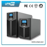 Buy cheap 24VDC to 220VAC Uninterrupted Power Supply , Solar Online UPS Power with PV Input from wholesalers