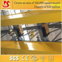 Wholesale QD model workshop use double girder 30 ton overhead crane from china suppliers