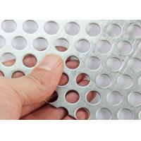 Wholesale 1-3mm Thickness Customized Perforated Sheet Metal Mesh Discounted Price from china suppliers