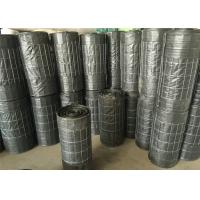 China Galvanized 4x4 welded wire mesh backed silt fence , welded wire mesh roll anti silt on sale