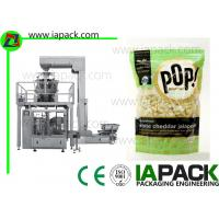 Wholesale Popcorn Premade Pouch Filling Sealing Machine With Multi Head Scale from china suppliers