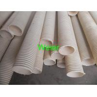 Wholesale Plastic PVC Double Wall Corrugated Pipe Extrusion Line With Twin Screw Extruder from china suppliers