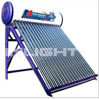 Wholesale 200L galvanized steel no pressure vacuum tube solar water heater from china suppliers