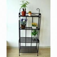 Wholesale Plant Stand, Made of Iron Tube and Bar, with Powder Coating from china suppliers