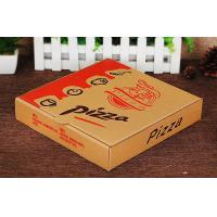 Wholesale Pizza Packaging Kraft Paper Food Boxes , Custom Merchandise Packaging Boxes from china suppliers