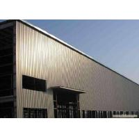 Buy cheap Steel Structure Construction For Prefab Light Metal Workshop With ISO Certification from wholesalers