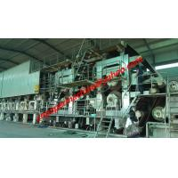 Quality 200TPD 4300mm trim width fourdrinier wire corrugated paper machine for sale