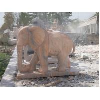 Wholesale Garden Elephant Stone Carved Marble Statue from china suppliers