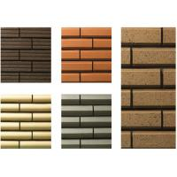 Wholesale Plane Surfaces Special Shaped Bricks , Thin Veneer Brick Customized from china suppliers
