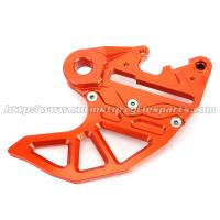 Wholesale Dirt Bike Parts KTM Rear Disc Guard SX EXC 6061 Aluminum Orange Silver Blue from china suppliers