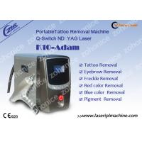 Wholesale 1064nm / 532nm Laser Tattoo Removal Machine For Eyebrow / Speckle Removal from china suppliers