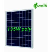 135W 18V Rated Poly PV Solar Panel For RV / Camping / OFF- grid Solar System