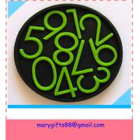 Wholesale High quality made in china Eco-friendly customized PVC drink coasters from china suppliers