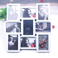 Wholesale Chinese Manufacturer hot sale plastic collage photo frame/plastic collage picture frame from china suppliers