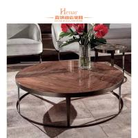 Wholesale Mid Century Vintage Marble Top Stainless Steel European Coffee Table For Living Room from china suppliers
