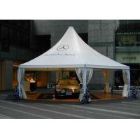 Wholesale White Temporary High Peak Tents , Car Storage Shelter For Outside Trade Show from china suppliers