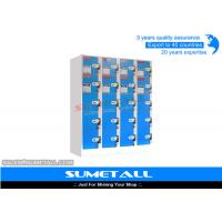Buy cheap Safety Metal Parcel Locker Shopping Lockers For Grocery Store / Supermarket from wholesalers