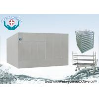 Wholesale Large Steam Sterilizer Double Door Autoclave Reducing Microorganism To 7 Logs from china suppliers