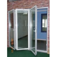 Wholesale Easy Installation Anodizing / PVDF Folding Aluminum Frame Windows with Float Glass from china suppliers