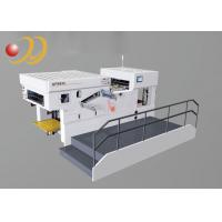 Wholesale Easy Operation Paper Cut Machine , Die Cut Paper  With Waste Stripping from china suppliers
