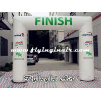 Wholesale 4m*5m White Inflatable Arch, Cheap Inflatable Finish Line for Sports Arch from china suppliers