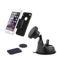 Wholesale 360 Degree Rotating Suction Cup Design Dashboard Mount Magnetic Car Holder for Smartphones from china suppliers