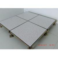 Quality Dustproof Flame Retardant Raised Floor Tiles For Data Center for sale