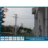 Wholesale Anti Rust Q235 Transmission Line Metal Power Poles With Transmission Line Hardware from china suppliers